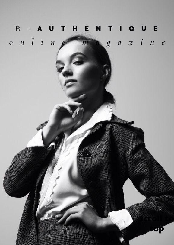 ZANETA in B-Authentique Magazine by Grazyna Nodame!  #model #magazine #polishgirl #balintnemes #ilovemymodels