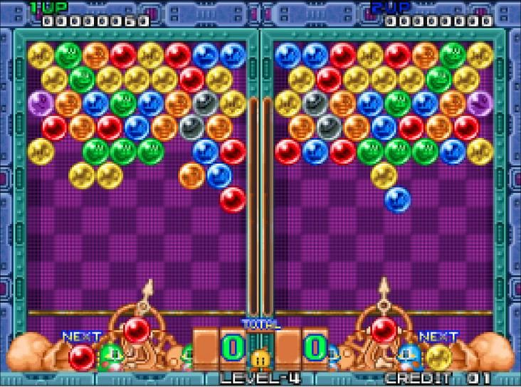 Download Puzzle Bobble game for pc free | A One PC Games