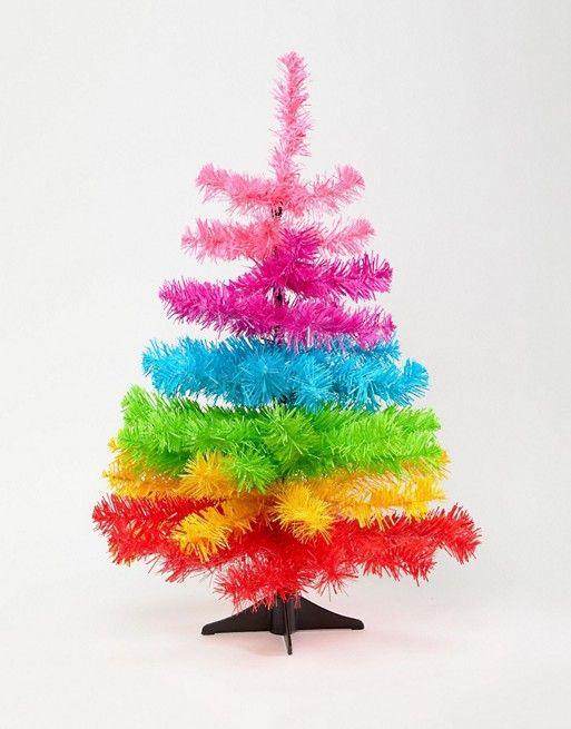 Paperchase 2ft Holidays Rainbow Tree Decoration The Most Wonderful