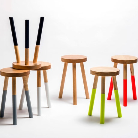 UM Project  Cleverly Lacquered Stools