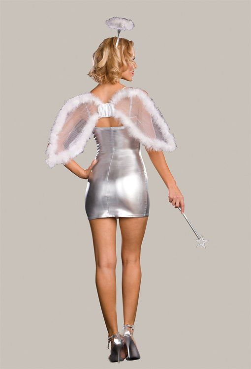 DREAMGIRL Light-Up Angel Kit - Wings Wand & Halo 3 PC Heavenly Accessories NEW #Dreamgirl #WingsWandHalo #Halloween