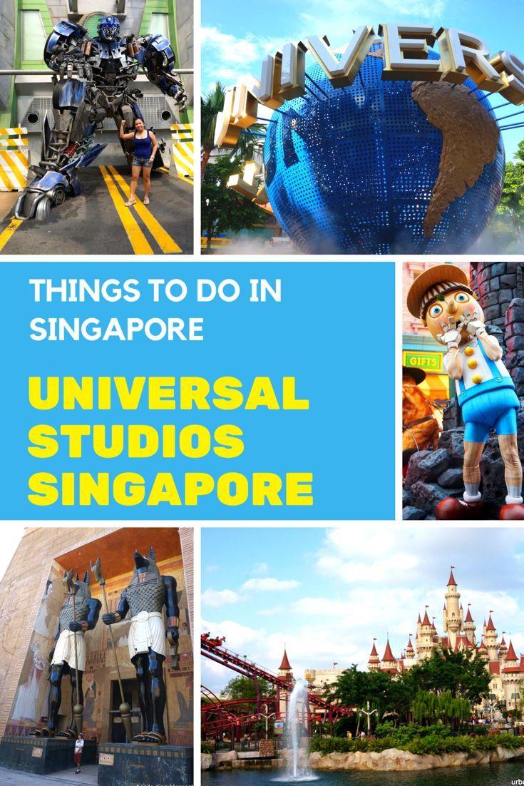 Things to do in Singapore - Universal Studios Singapore
