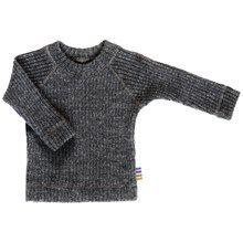 Joha trøje i 100% uld. EU Eculabel og Woolmark certificeret. Koks grå.