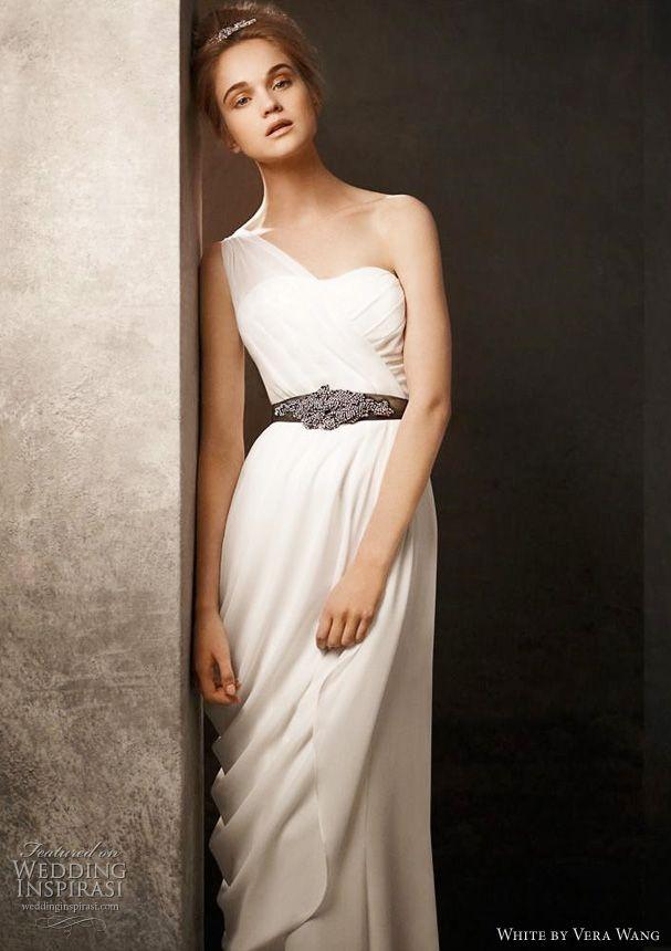 Greek Goddess Wedding Dress Davids Bridal