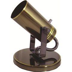 Spot de Sobrepor Na Base Ou Trilho Alumínio Oxidado Ref. 201/1 - Spot Line