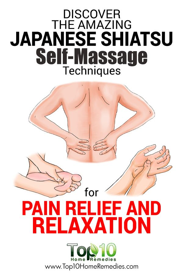 Discover the Amazing Japanese Shiatsu Self-Massage Techniques for Pain Relief and Relaxation