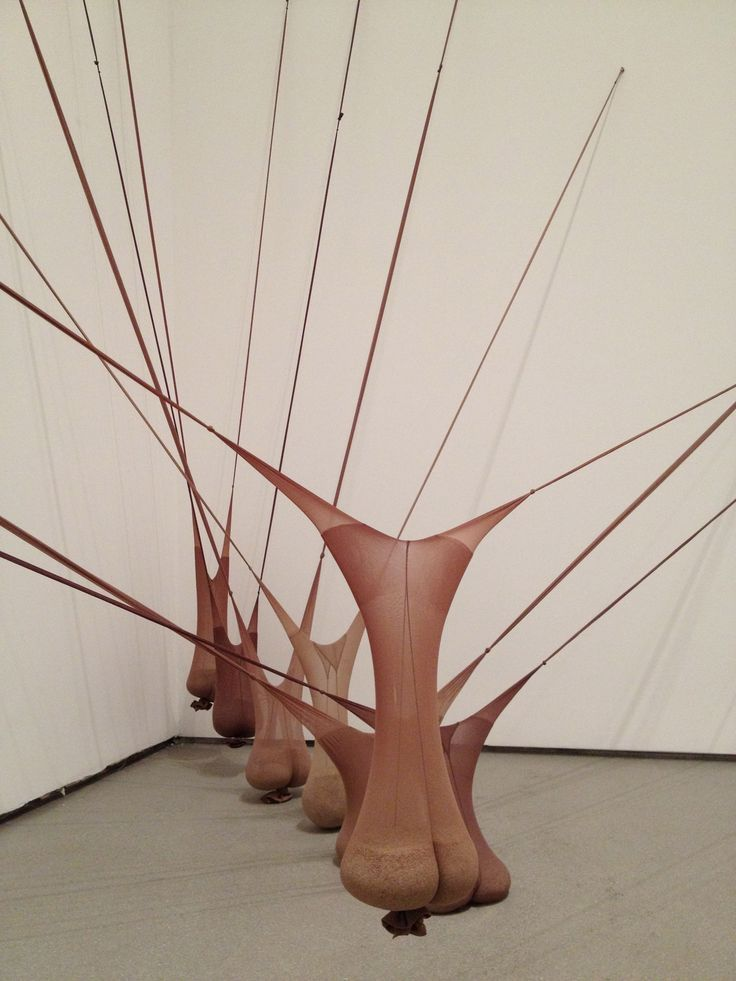 Doris salcedo – The lines make it look like a grasshoper, those long thing and twiggy like lines that explode from the piece of clay (?) gives me that feeling.
