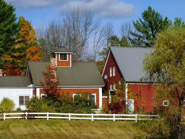 Barn homes, Hiram , Maine, 495 River Rd for sale: $650,000. Surrounded by sloping green pastures, this historic farm dates back to 1820.  The barn has since been completely renovated, and the carriage house has been rebuilt.