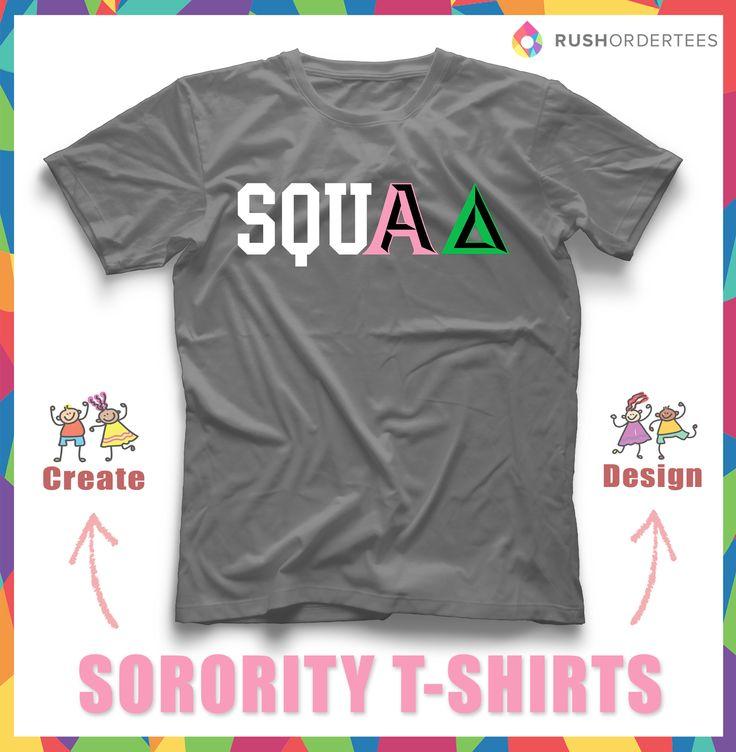 12 best sorority rush t shirt ideas images on pinterest for Custom sorority t shirts