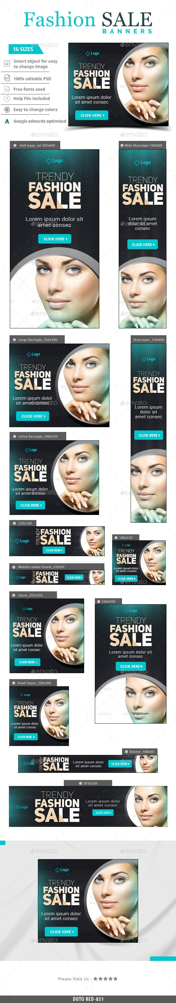 Trendy fashion Web Banners Template PSD #design Download: http://graphicriver.net/item/trendy-fashion-banners/13557330?ref=ksioks