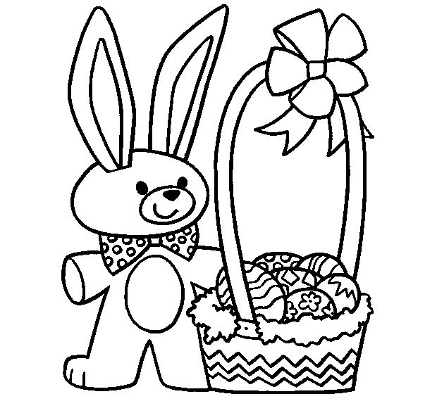 Online Easter coloring app! Color online or print and color - Many Easter pictures to choose!