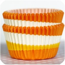 cute candy corn cupcake liners. 50 for $3.75