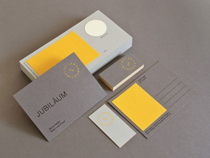 Armin Reinhold from Sunda Studio created the special stationery branding to commemorate Mona Redlin's 30 year anniversary of her hairdresser business. Reinhold designed minimal vouchers, postcards and business cards on neutral beige and grey-brown toned cards with bright accents of yellow. The voucher design was intended to emphasise the personality of the recipient by leaving …