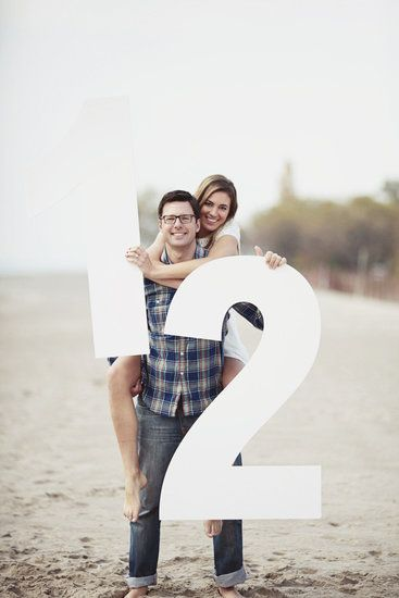 Go big or go home — how to save the date with your engagement pictures