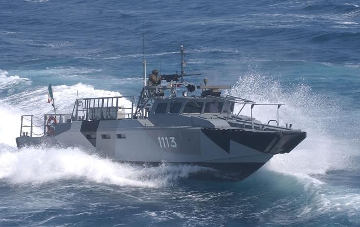 Patrulleras Clase Polaris Armada de Mexico
