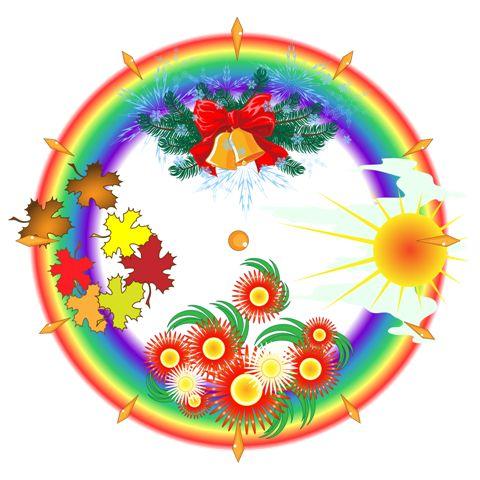 "Календарь природы ""Времена года"" (3 варианта)"