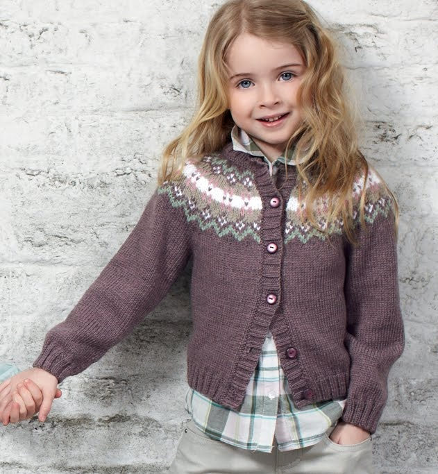 TOT TRICOT: JACQUARD;  I like this pattern for me!