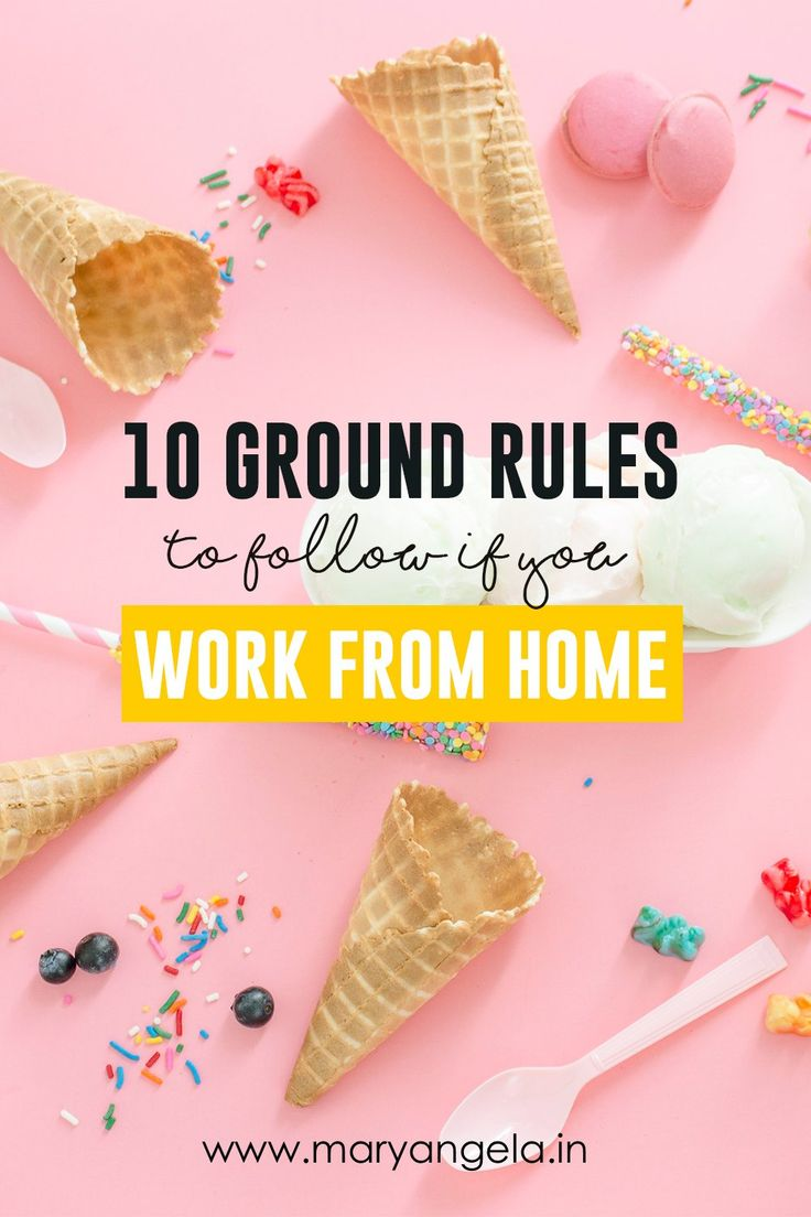 Do you work from your home office? Read these tips to find out how you can increase your efficiency by working from home!