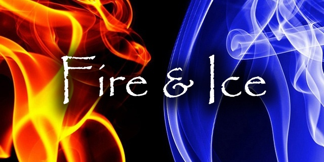 Fire & Ice Theme in 2020 | Fire, ice, Formal party ... |Drawing Fire And Ice Themed
