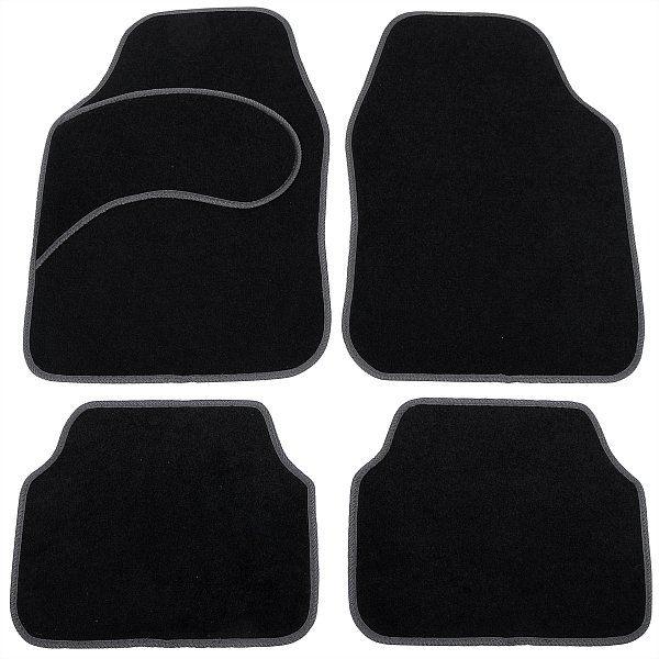 Universal Auto Fußmatten Teppich Autoteppiche Stoffmatten AM7131 | Woltu