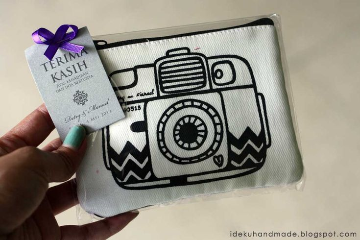 ideku handmade: {pouch for wedding souvenir}