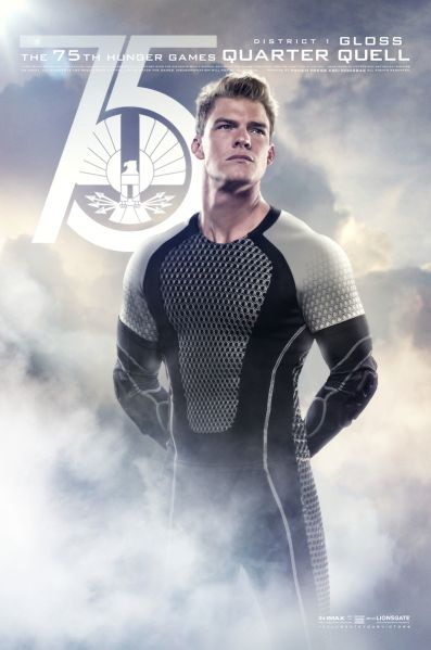 Gloss! ('Hunger Games: Catching Fire' unveils Quarter Quell posters | Hero Complex – movies, comics, pop culture – Los Angeles Times)