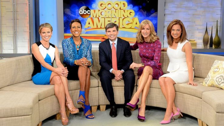 "Get with the program on ""Good Morning America""! Visit us Monday to Friday in Times Square (Broadway at 44th Street) starting at 7 a.m. for a chance to be part of our live broadcast. Viewers outside our studio get a front row seat to the show and you might even get to meet our anchors! CLICK HERE..."