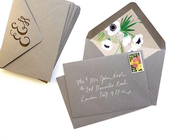 ozdobne koperty do zaproszeń ślubnych zdjęcie (5)