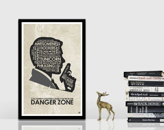 Sterling Archer Quote Poster by OutNerdMe on Etsy