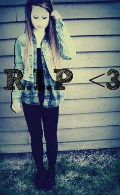 RIP Amanda Todd. Stop bullying! - Amanda Todd | Pinterest ...