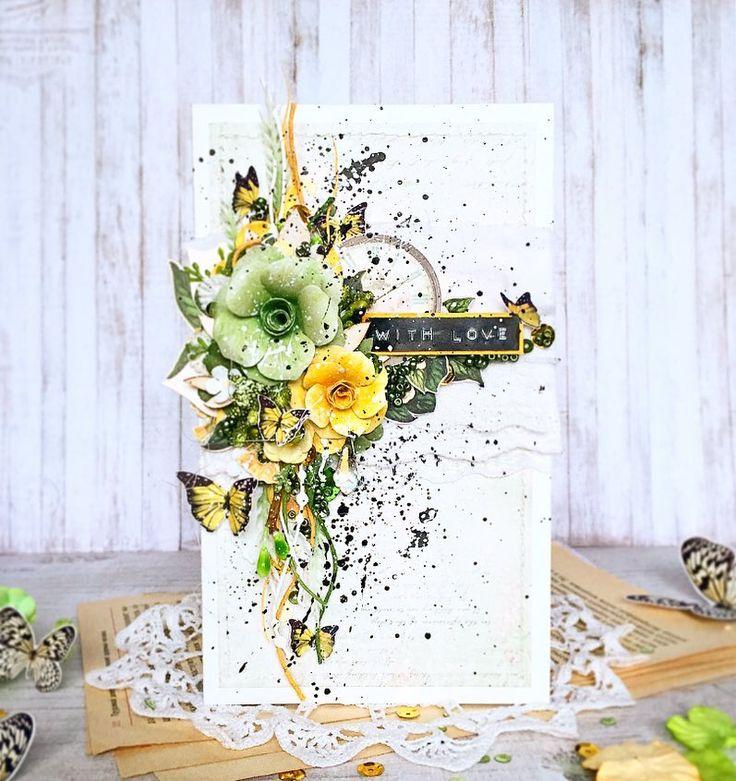 4 этап #angoldspring #angoldspring_4 c @ira_angold  Не хочу, что бы мои открытки были одинаковые, хочу каждую в совершенно разной от друг друга палитре Так мне понравилось с ней работать, что хочется экспериментировать со всеми цветами ❤️ Ира, спасибо Спонсоры :@tvorcheskie_ast @babkakorobka @scrap_moments.ru @designed_by_natalia @blagolis_  @rucodelieshop.ru @hobby_time_chipbord @hobbylab24.ru @scrap_rostov @woodchic_chip