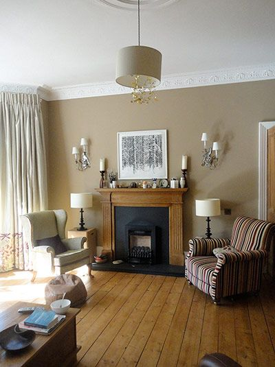 Credit: Karlyn Evans A lot of the homes in Glasgow are Victorian, and have great high ceilings, large windows and ornamental plasterwork, so...