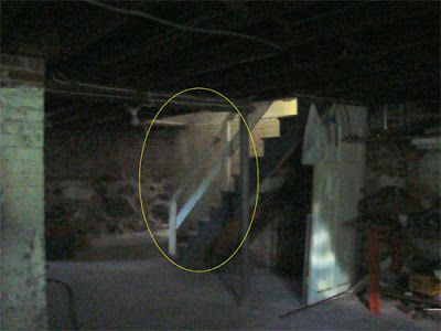 Real Ghost and Demon Hauntings - Paranormal, Unexplained Mysteries: Real Ghost Photo: Basement