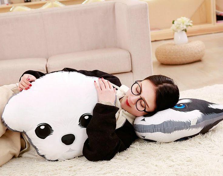 Big discount cute stuffed simulation dogs plush sharpei