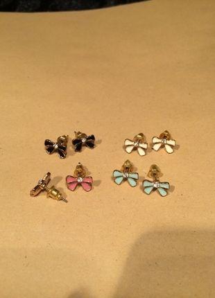 Kaufe meinen Artikel bei #Kleiderkreisel http://www.kleiderkreisel.de/accessoires/ohrringe/78970444-4-schleifen-ohrringe-bunt