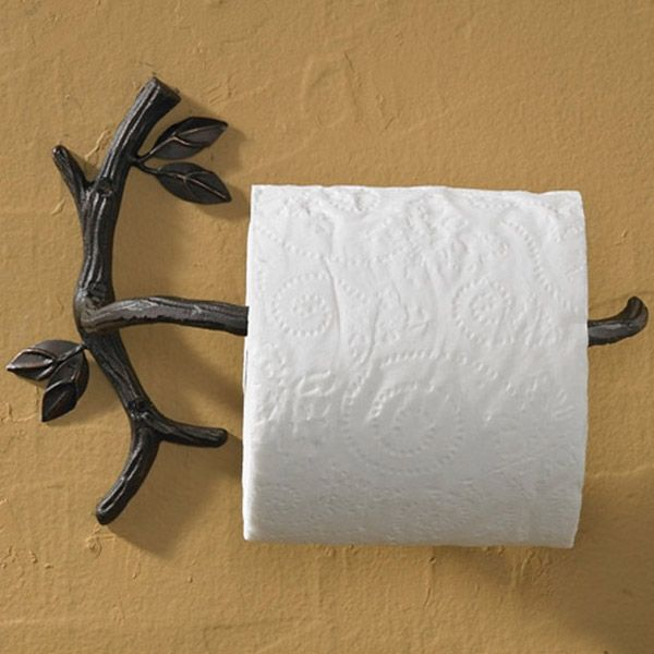 Natures Walk Toilet Paper Holder   Capture The Rustic Feel Of Nature For  Your Home With Our Natures Walk Collection. This Natural Iron Accessory Is  Artfully ...