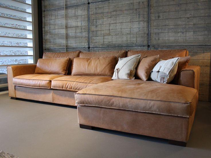 7 best hoekbank elena leder images on pinterest bold living room