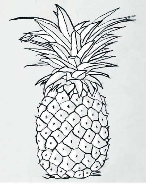 WHITE PINEAPPLE Artillustration And Prints Pinterest