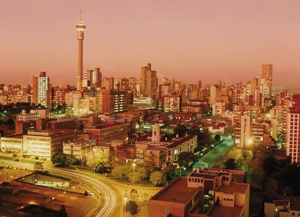 Johannesburg / Jo'burg /Jozi South Africa .