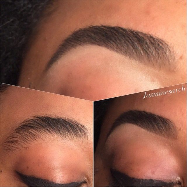 Another brave soul growing out her eyebrows this is her…