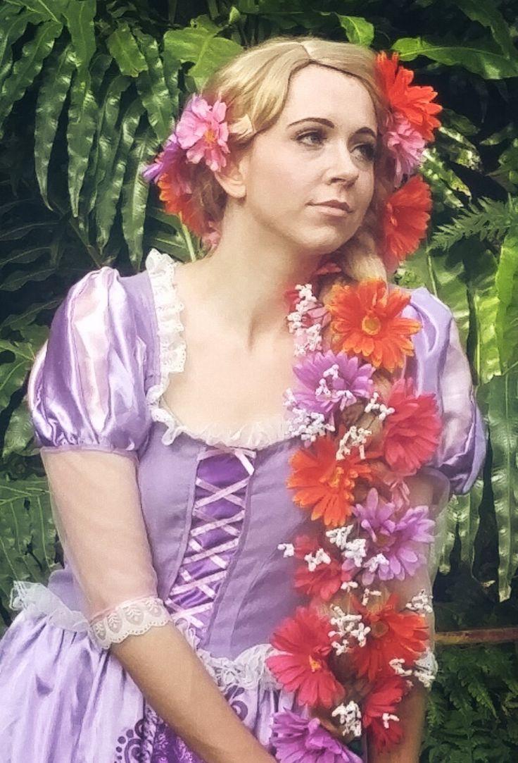 Princess Raphaella, the tower princess. www.twincitiespartyprincess.com