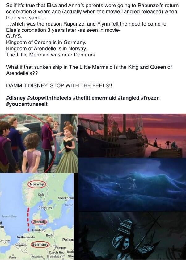 Frozen - tangled - little mermaid - Oh. My. Gosh. This is getting out of hand.