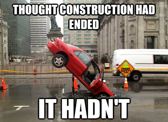 End of Construction? Not likely:)