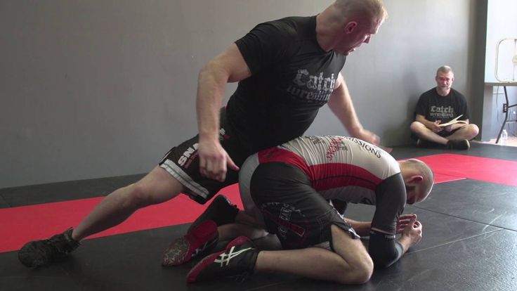 """Catch Wrestling: Leg Rides to Banana Split & Wrestlers: Guillotine: Snake...    or """"How to Handle the Turtle""""  Excellent submissions here, this is why Catch Wrestling is my favorite grappling MA, well before Brazilian JiuJitsu, especially for the street."""