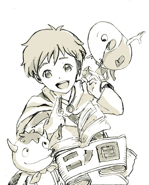 Ni No Kuni! GAH SO CUTE! <3