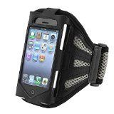 eForCity Sports Running Exercise Armband Case for iPhone 3G/3GS/4S/iPod touch (Black). Apple iPod, iPhone, or iPad are registered trademarks of Apple, Inc. Products are Apple compatible and not endorsed by Apple, Inc. Compatible With Apple iPhone 3G 3Gs/iPhone 4S - AT&T, Sprint, Version 16GB 32GB 64GB &/iPod touch. This durable, lightweight armband case keeps your iPod secure and protected. Unique design allows easy access to all functions without having to remove the skin. Multiple…