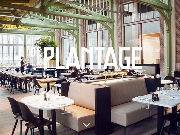 Cafe restaurant De Plantage in Amsterdam http://caferestaurantdeplantage.nl/en/#home