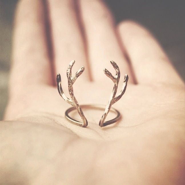 scandinavian things;  handformed antlers