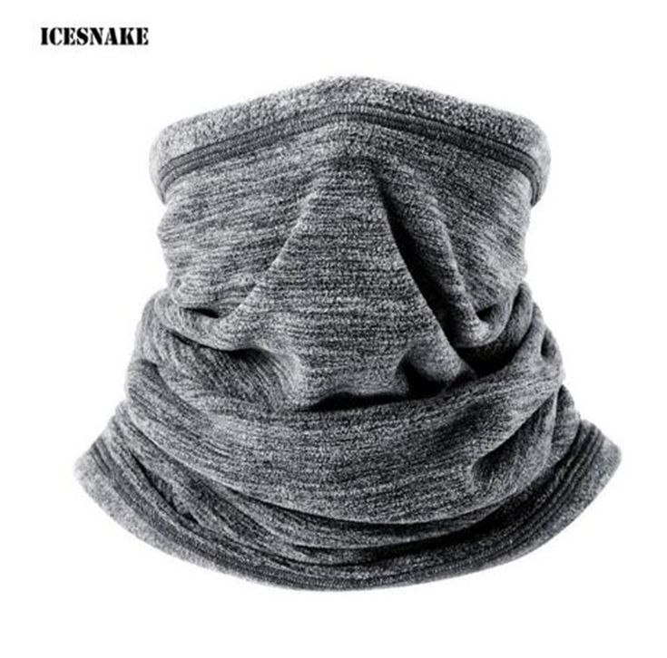 ICESNAKE Motorcycle Face Mask Winter Windproof Moto Balaclava Motorcycle Outdoors Sports Motorbike Neck Warmer