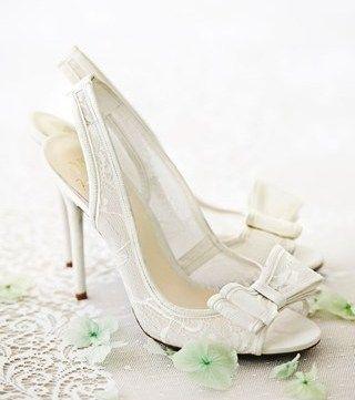 Bridal wedding shoes 2014 | Alzefaf.com